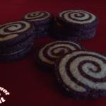 Sablés spirales au chocolat