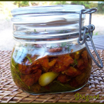 Tomates confites à l'huile d'olive