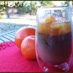 verrines chocolat et clémentines