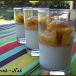 Verrines noix de coco et ananas
