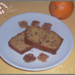 cake orange,noix et miel