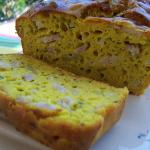 cake poulet et curcuma
