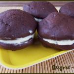 whoopie pies chocolat et lemon curd
