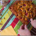 Gâteau aux fraises à l'huile de noix de coco