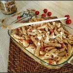 Baked feta pasta (pâtes à la feta rôtie au four)