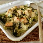 Gratin de saumon et brocolis