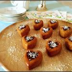 mini moelleux noix de coco et chocolat
