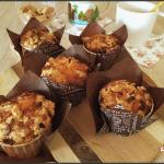 muffins framboises et crumble (façon Starbucks)