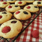 Cookies aux fruits rouges et au chocolat blanc