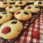 Cookies aux fruits rouges et au chocolat blanc