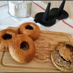 Bagels à la farine complète (IG Bas)