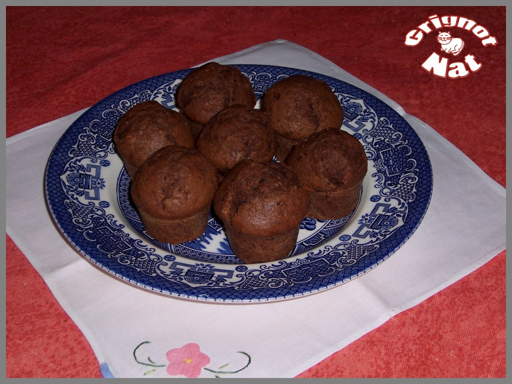 muffins chocolat- pecan