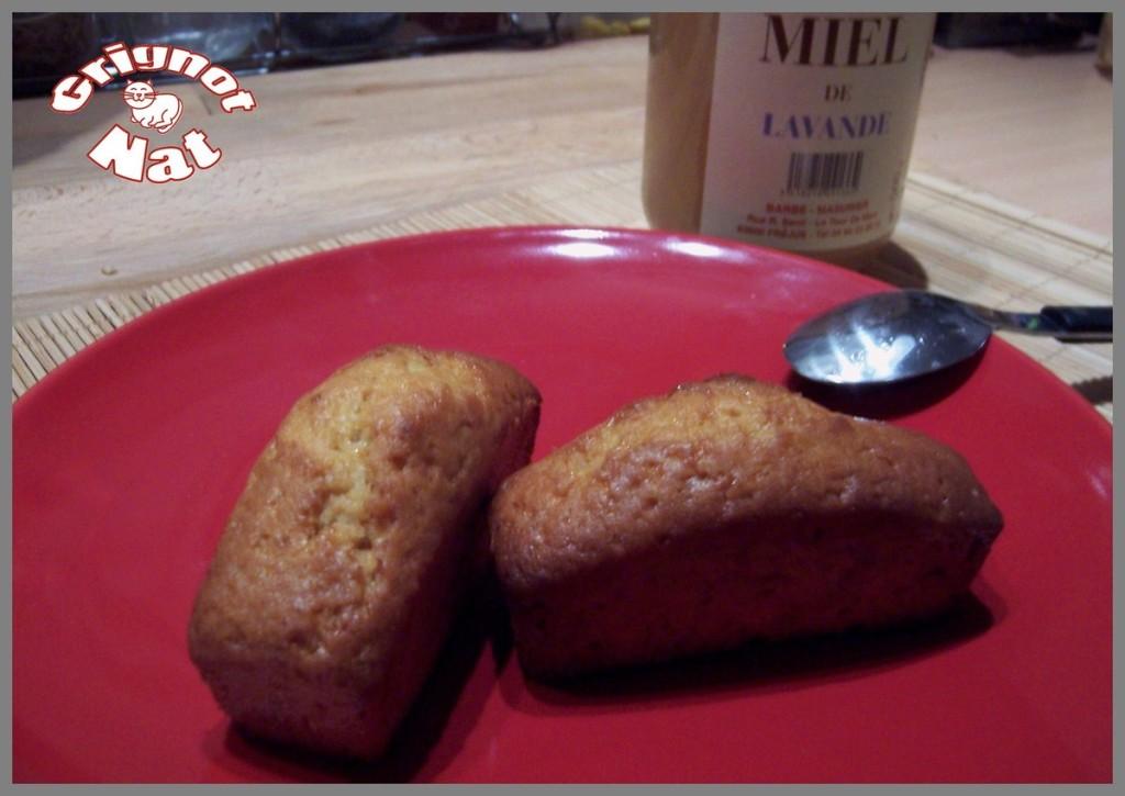 cake miel pignons