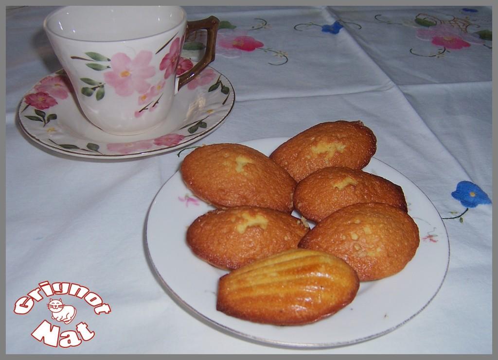 madeleines cardamome