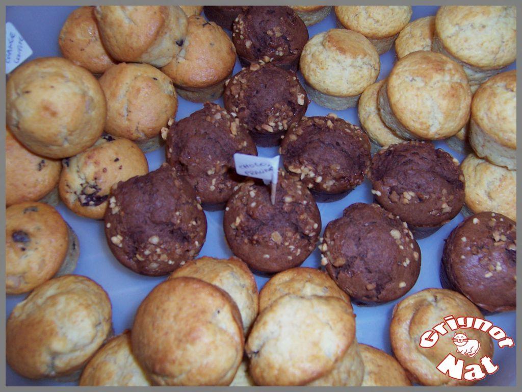 assortiment muffins