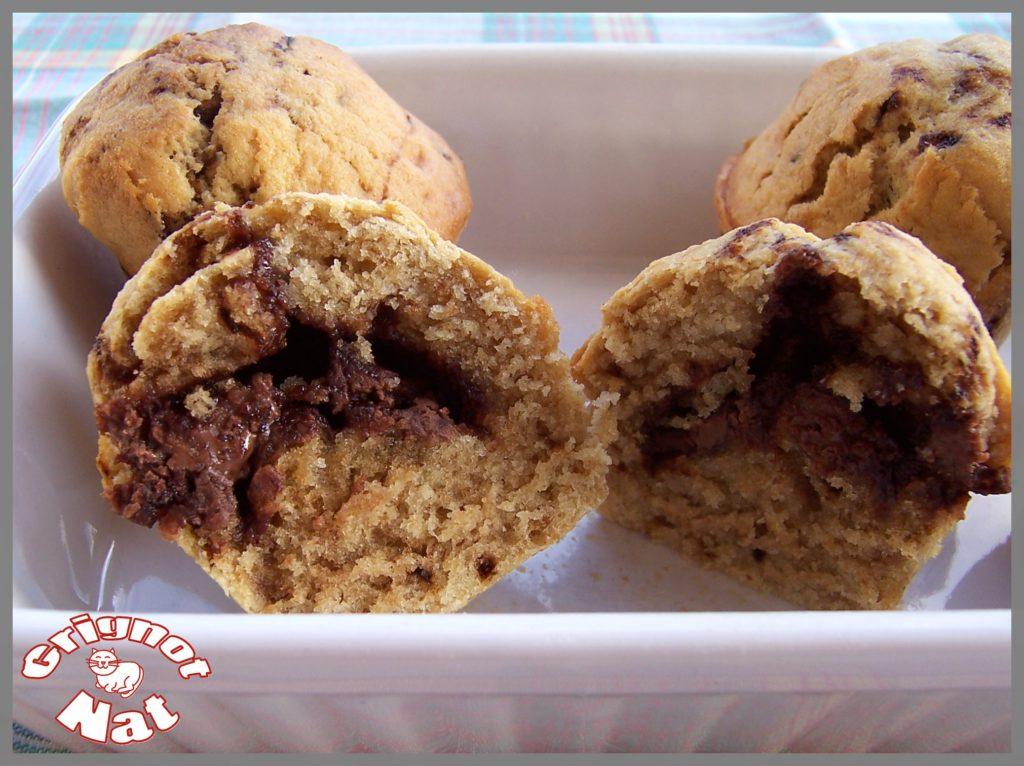 muffins café chocolat