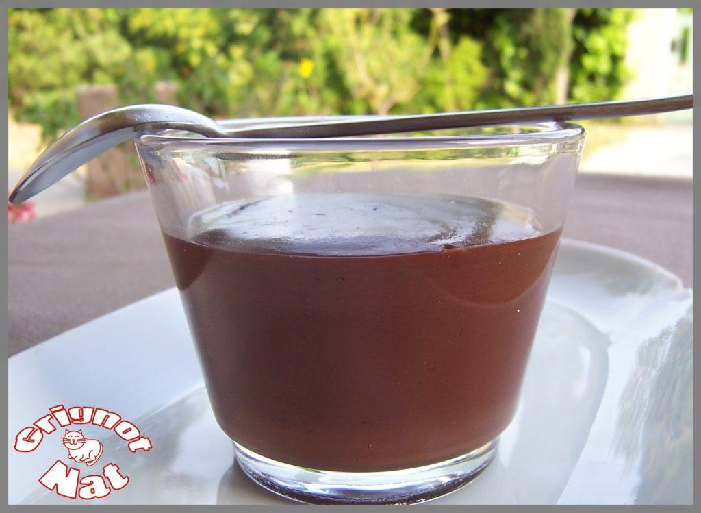 Crème chocolat noir et madeleines au pain d'épices 3