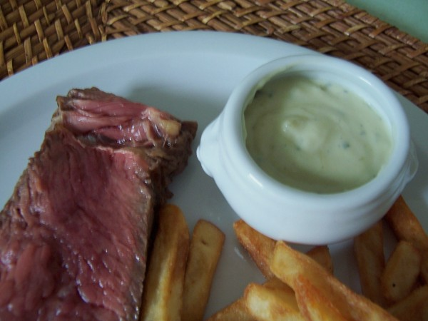 côte de boeuf et sauce roquefort 2