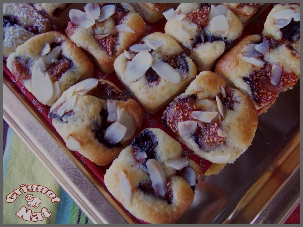 moelleux aux figues fruits rouges