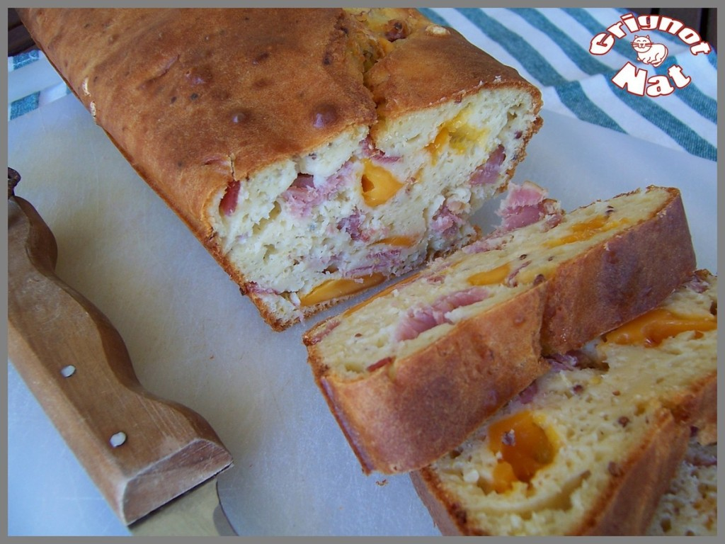 Cake Olive Bacon Fromage