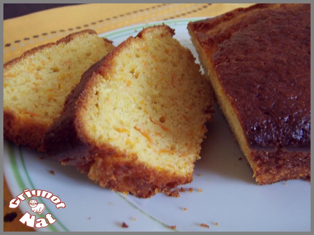 cake potiron - orange