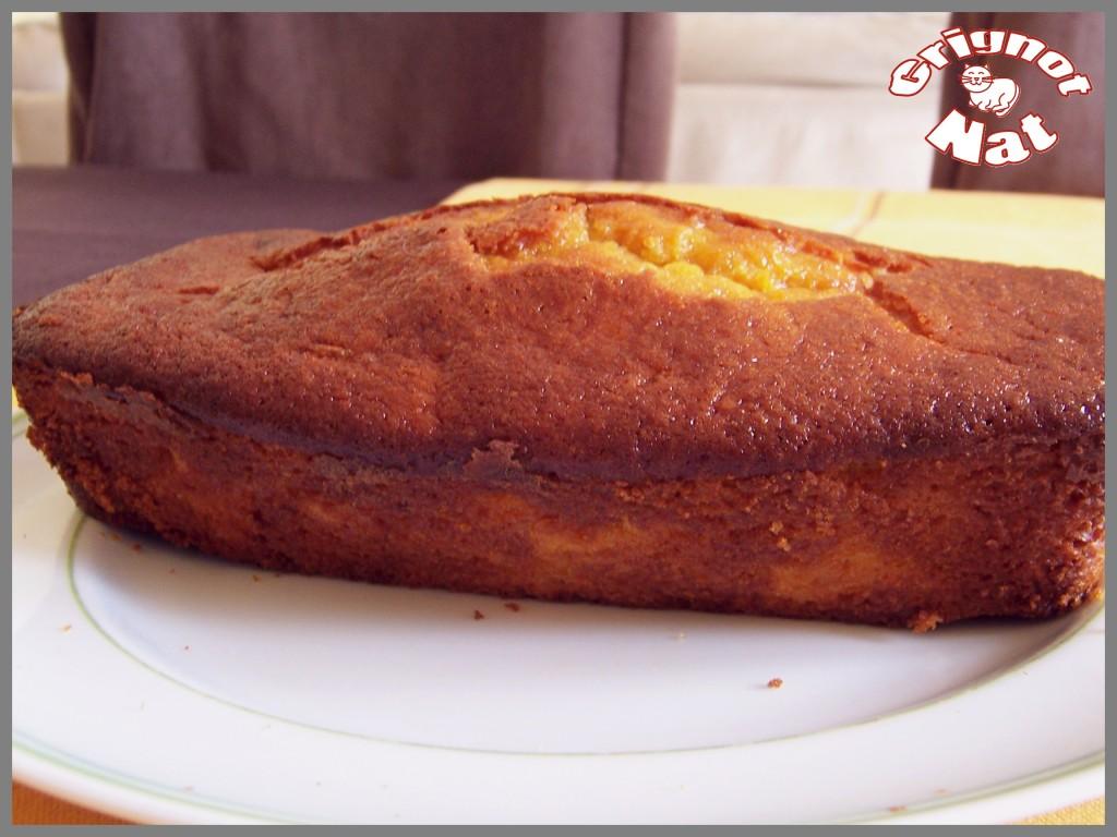 cake potiron - orange 2