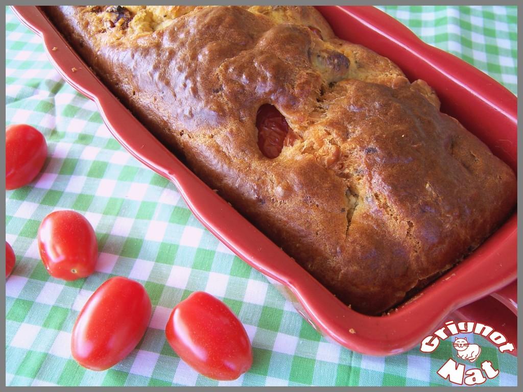 cake tomate cerise - tomate séchée 3