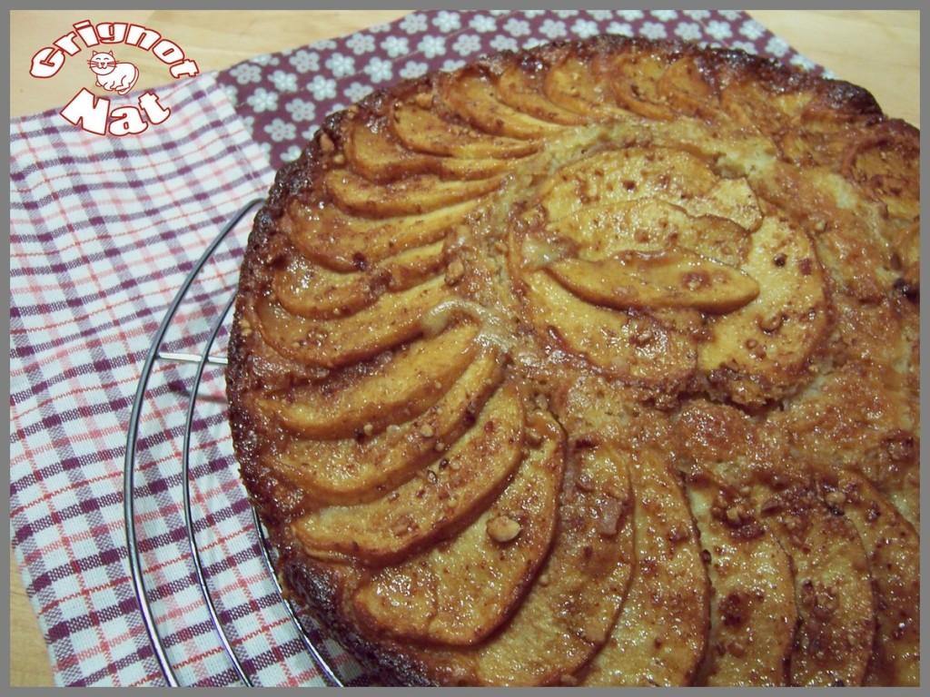 gateau-ricotta-pomme-caramel