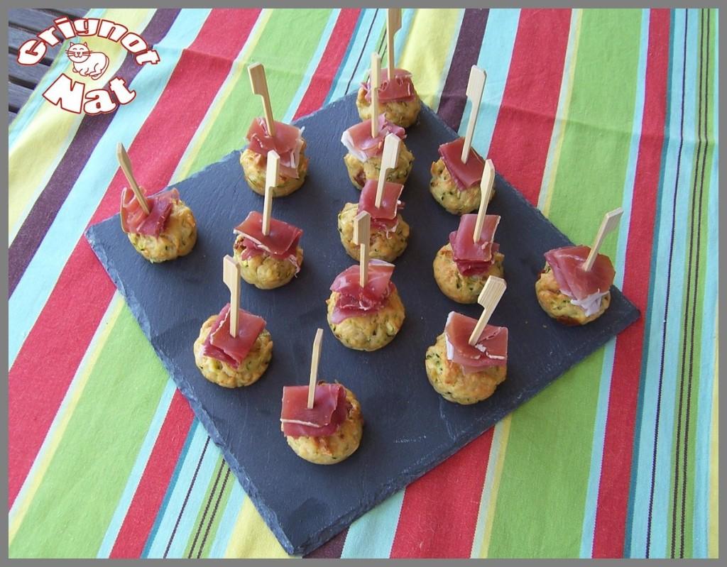mini-cake-courgette-jambon-cru
