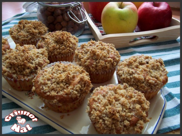 muffins-pomme---crumble
