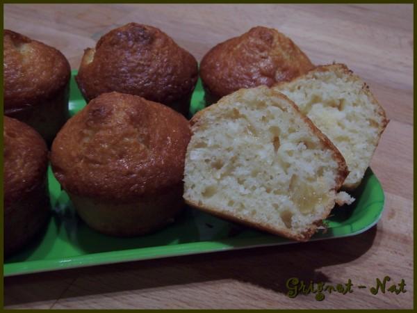Muffins à l'ananas et au coco 2
