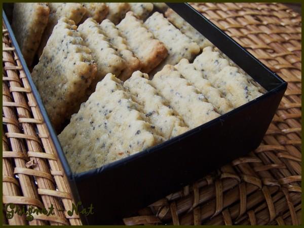 Biscuits au citron et pavot