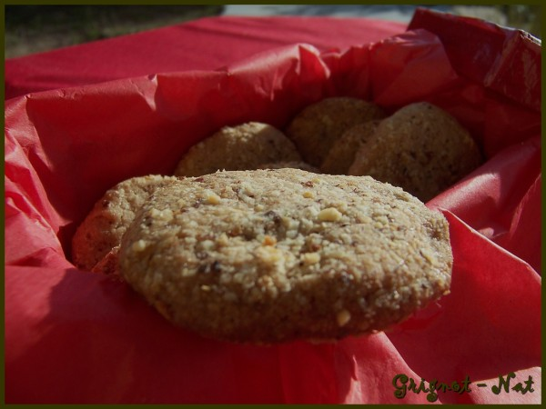 Biscuits à la pralinoise 3