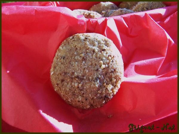 Biscuits à la pralinoise 2