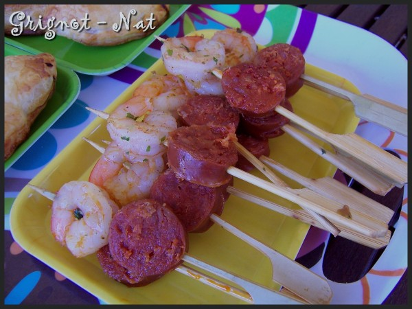 brochettes-crevettes--chorizo