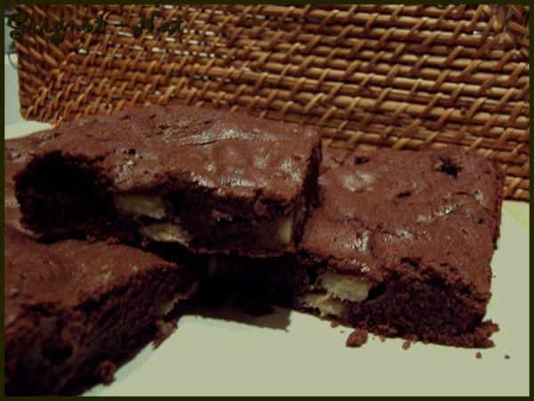 Brownie à la banane 3