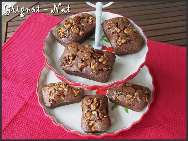 Brownies crunchy au sirop d'érable 3