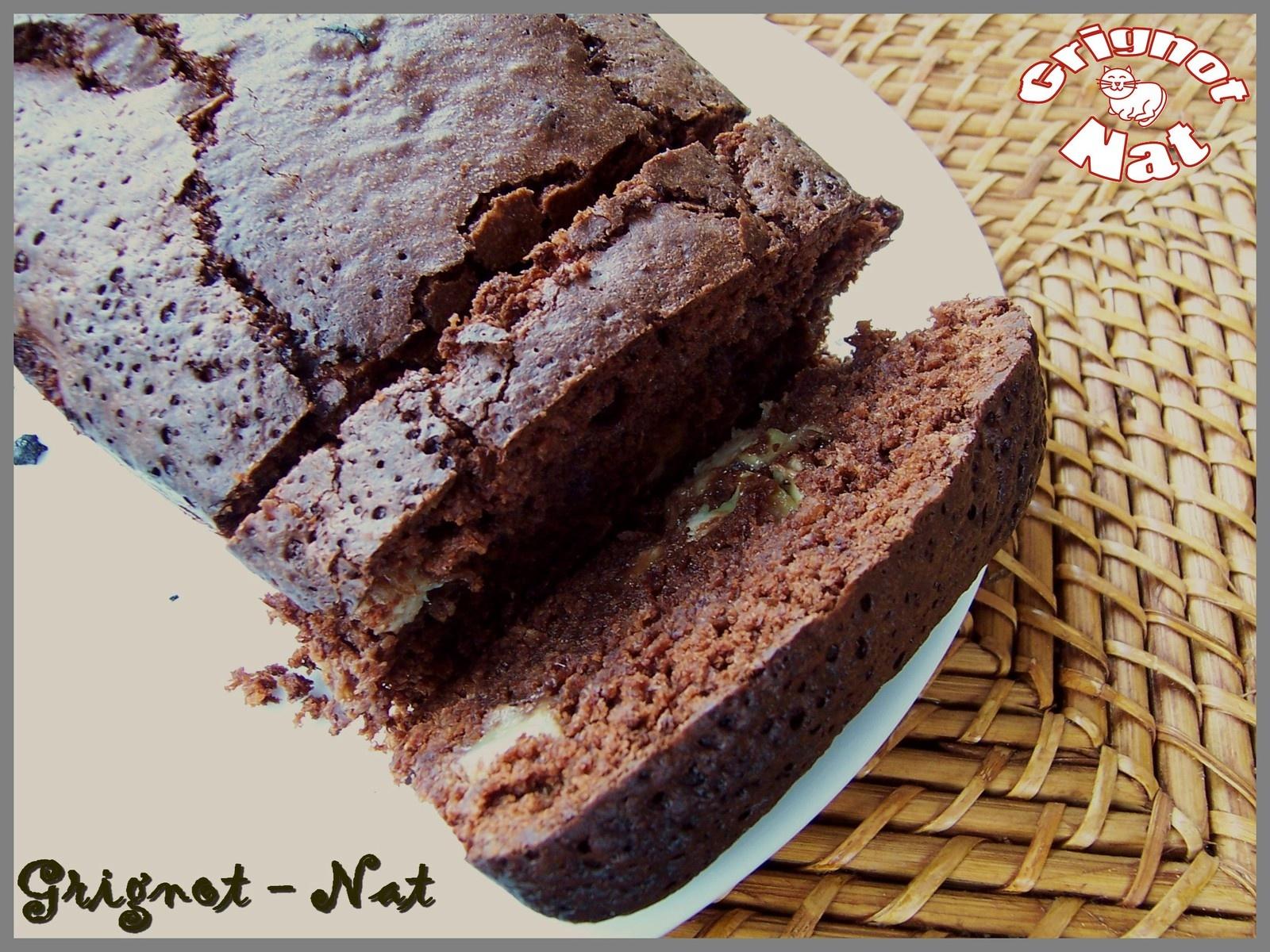 cake chocolat banane et noix de coco grignot nat. Black Bedroom Furniture Sets. Home Design Ideas