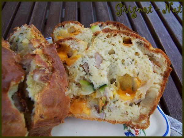cake-poulet---mimolette---courgettes 2