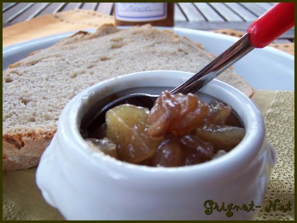 Confiture de poires, noix et vanille 2
