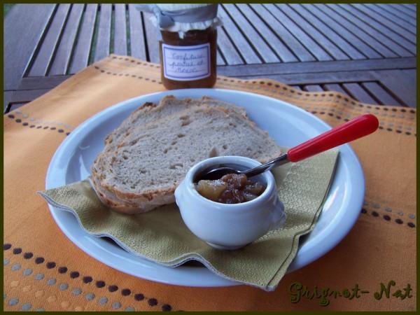 Confiture de poires, noix et vanille 3