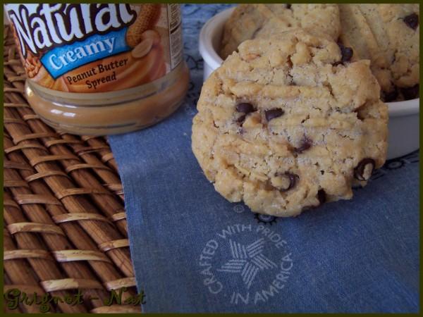 cookies au beurre de cacahuète et pépites de chocolat 3-