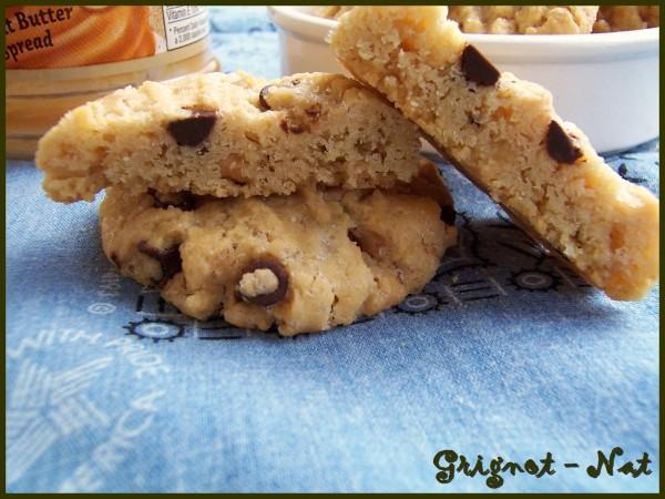 cookies au beurre de cacahuète et pépites de chocolat 2-