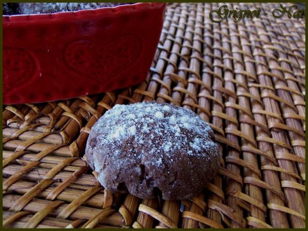 Biscuits craquelés au chocolat 2