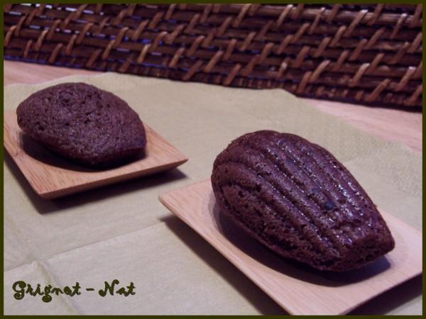 madeleines au chocolat noir 2