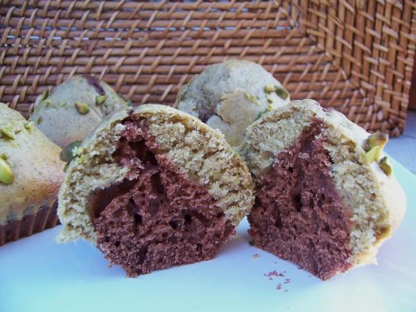 Mini marbrés chocolat, pistache 2