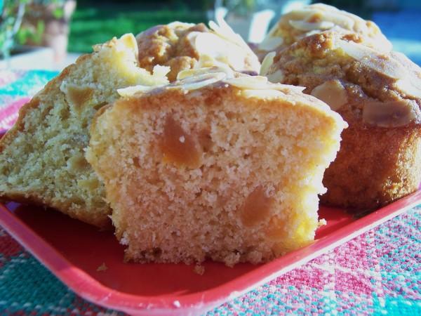 Muffins aux abricots et amande 2