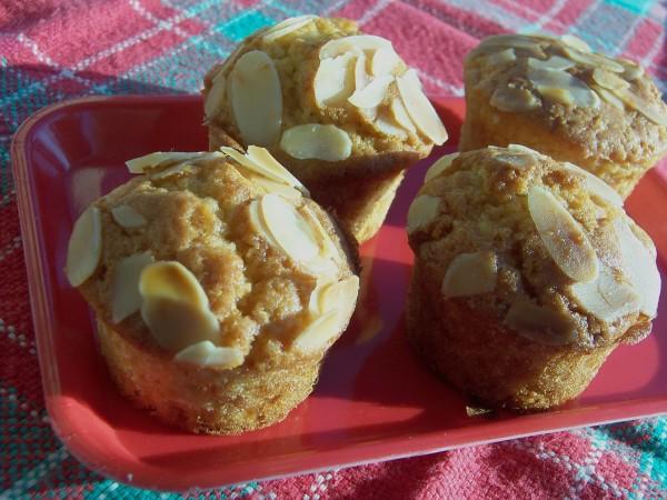 Muffins aux abricots et amande 3