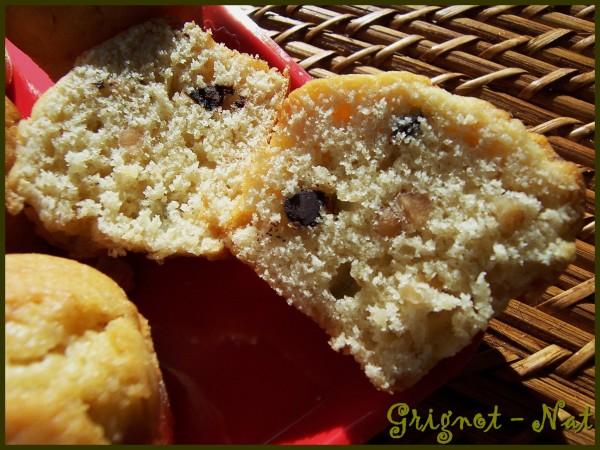 Muffins au beurre de cacahuètes crunchy et chocolat 2