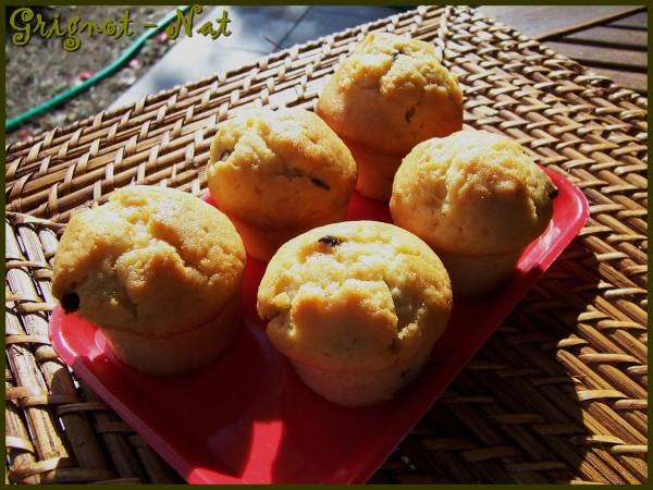 Muffins au beurre de cacahuètes crunchy et chocolat 3
